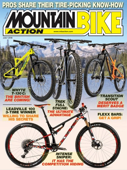 Mountain Bike Action Cover - 7/1/2018