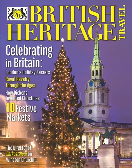 British Heritage Travel Cover - 11/1/2017