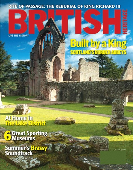 British Heritage Travel Cover - 5/1/2015