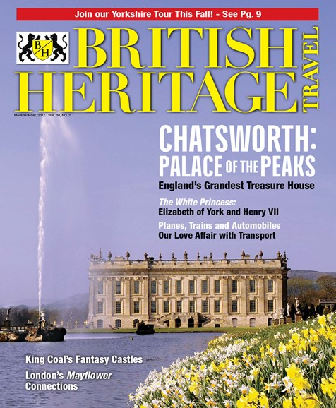 British Heritage Travel Cover - 3/1/2017
