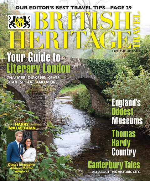 British Heritage Travel Cover - 3/1/2018