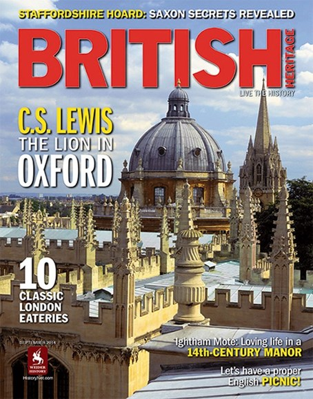 British Heritage Travel Cover - 9/1/2014