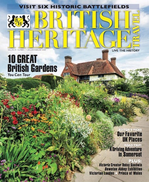 British Heritage Travel Cover - 1/1/2018