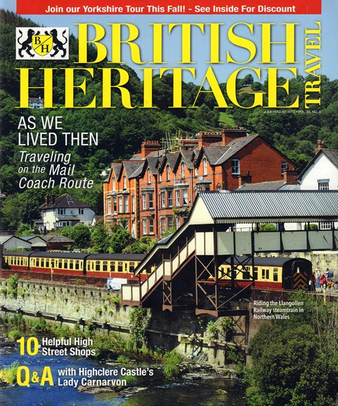 British Heritage Travel Cover - 7/1/2017