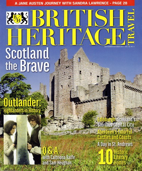 British Heritage Travel Cover - 9/1/2017