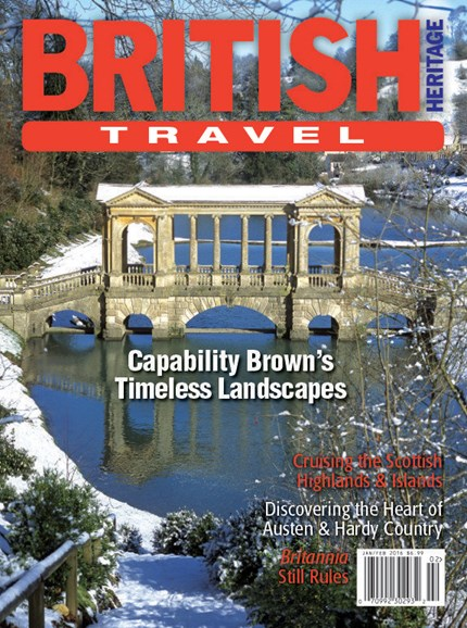 British Heritage Travel Cover - 1/1/2016