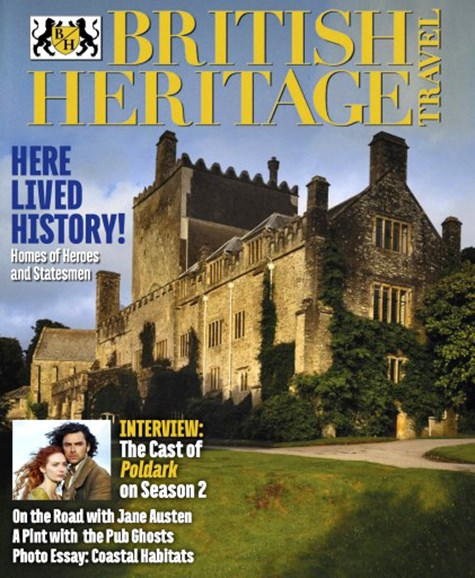 British Heritage Travel Cover - 9/1/2016