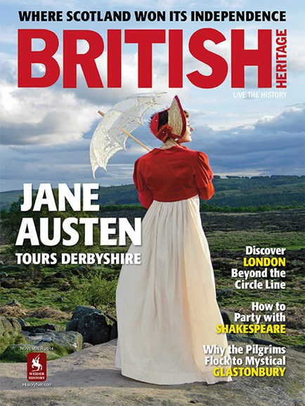 British Heritage Travel Cover - 11/1/2014