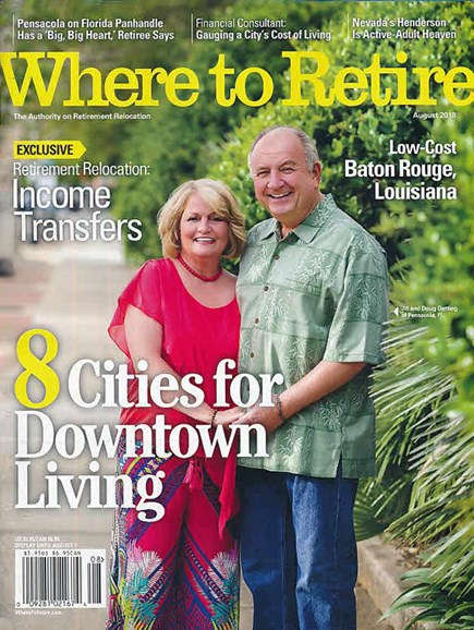 Where To Retire Cover - 7/1/2018