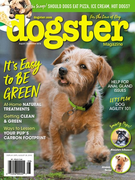 Dogster Cover - 8/1/2018