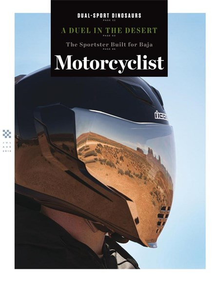 Motorcyclist Cover - 7/1/2018