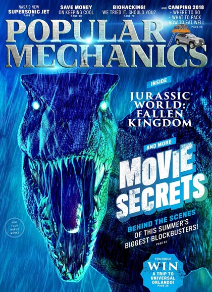 Popular Mechanics Cover - 7/1/2018