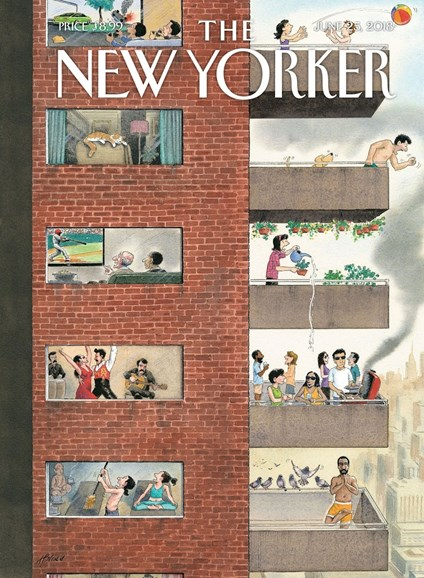 The New Yorker Cover - 6/25/2018