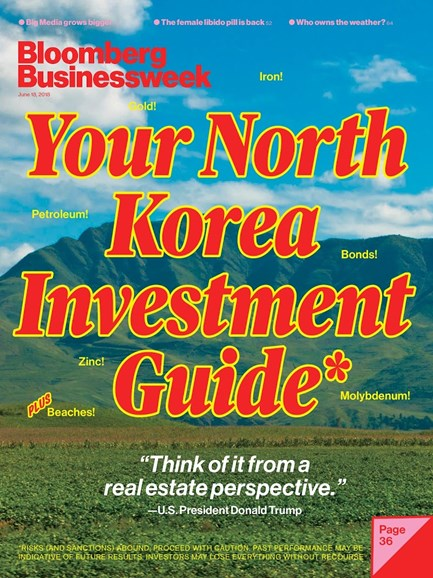 Bloomberg Businessweek Cover - 6/18/2018