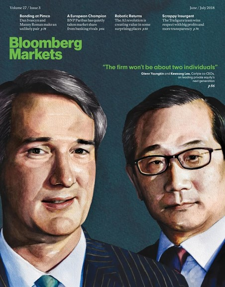 Bloomberg Markets Cover - 6/1/2018
