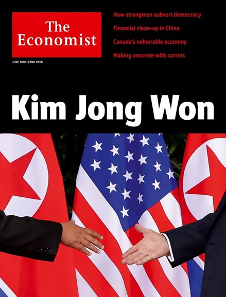 The Economist Cover - 6/16/2018