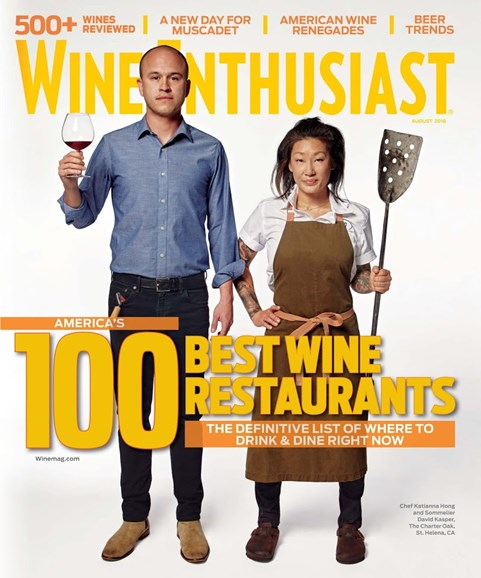 Wine Enthusiast Cover - 8/1/2018