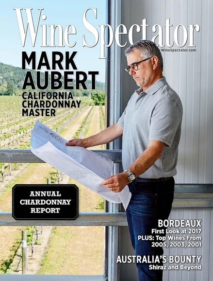 Wine Spectator Cover - 7/31/2018