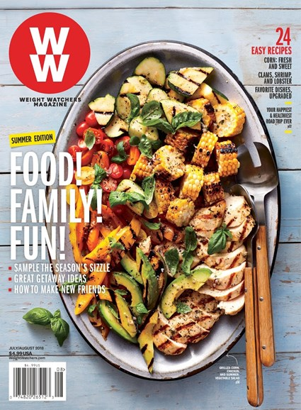 Weight Watchers Magazine Cover - 7/1/2018
