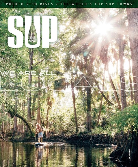 SUP Magazine Cover - 6/1/2018