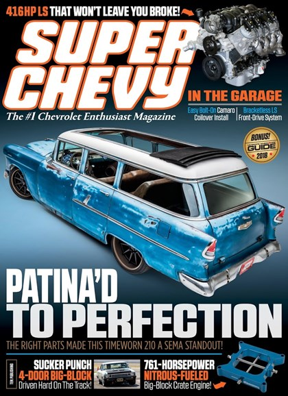 Super Chevy Cover - 8/1/2018