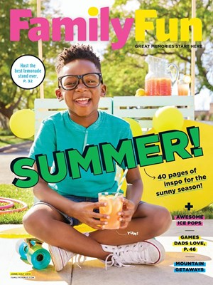 Family Fun Magazine | 6/1/2018 Cover