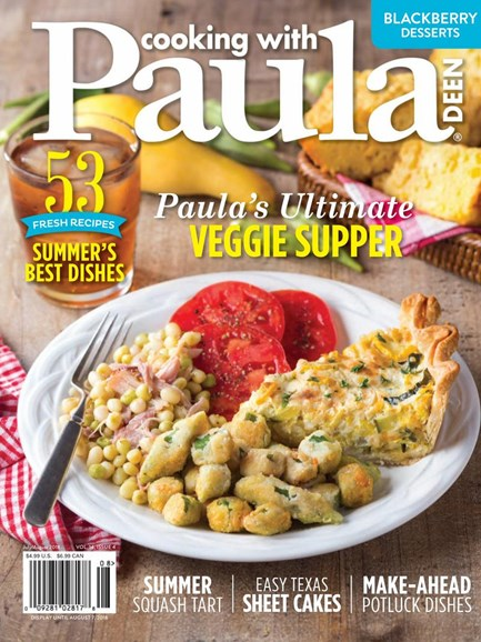 Cooking With Paula Deen Cover - 7/1/2018