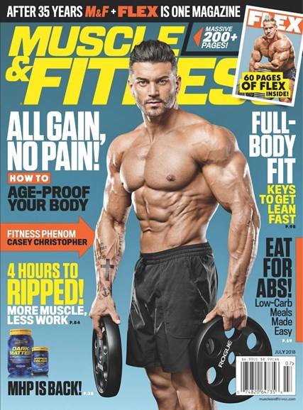 Muscle & Fitness Cover - 7/1/2018