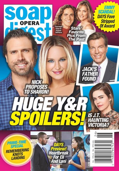 Soap Opera Digest Cover - 6/25/2018