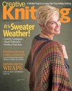 Creative Knitting Magazine | 8/1/2018 Cover