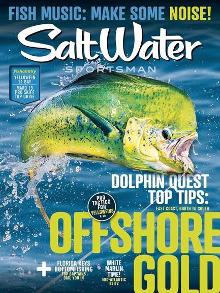 Salt Water Sportsman Cover - 7/1/2018
