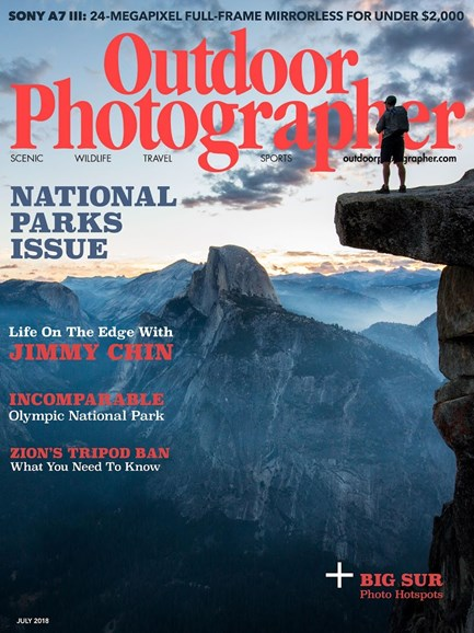 Outdoor Photographer Cover - 7/1/2018