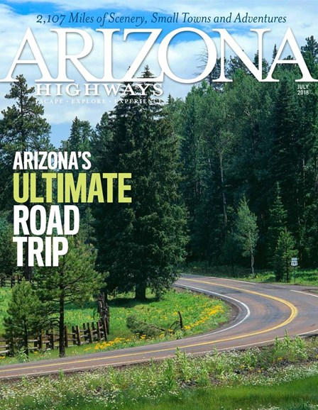 Arizona Highways Cover - 7/1/2018