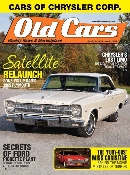 Old Cars Cover - 6/21/2018