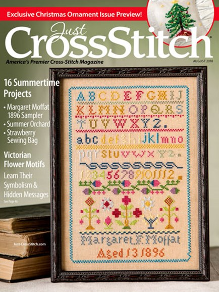 Just CrossStitch Cover - 8/1/2018