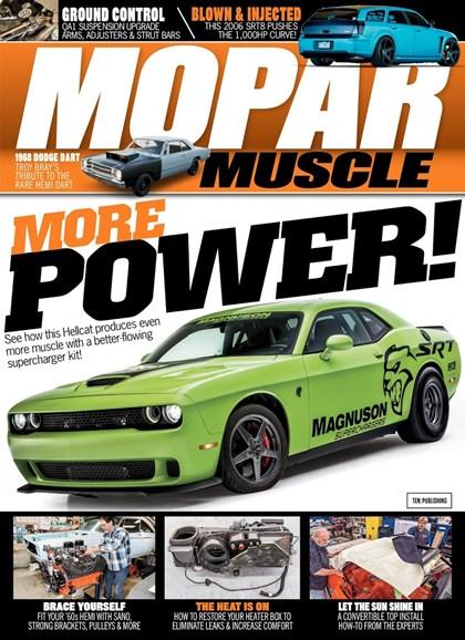 Mopar Muscle Cover - 9/1/2018