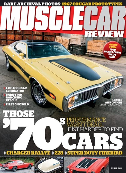 Muscle Car Review Cover - 7/1/2018
