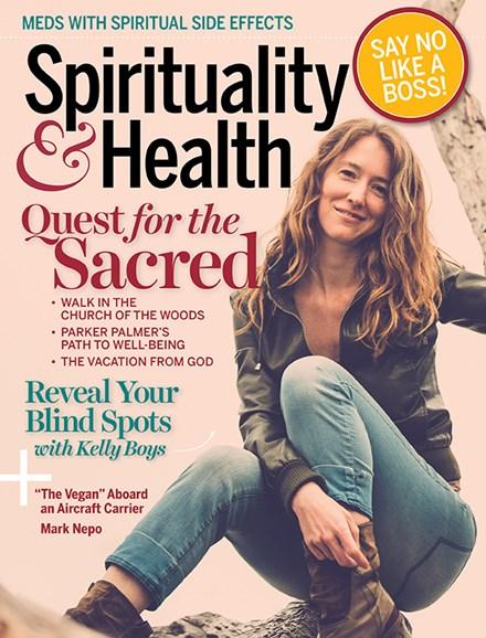 Spirituality & Health Cover - 7/1/2018
