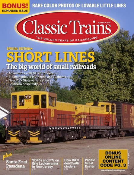 Classic Trains Cover - 6/1/2018