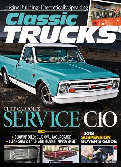 Classic Trucks Cover - 9/1/2018