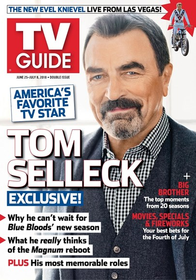 TV Guide Cover - 6/25/2018