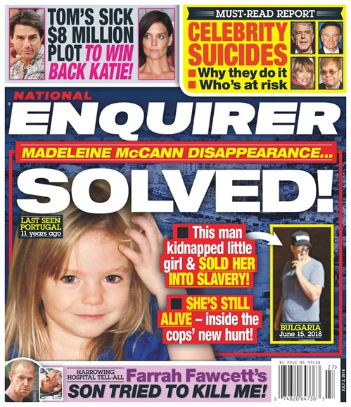National Enquirer Cover - 7/2/2018