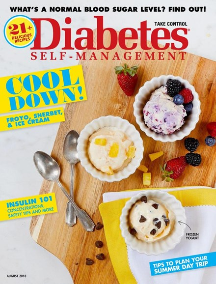 Diabetes Self-Management Cover - 7/1/2018