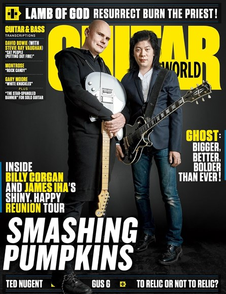 Guitar World Cover - 8/1/2018