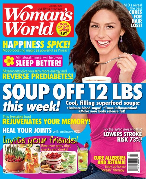 Woman's World Cover - 6/25/2018