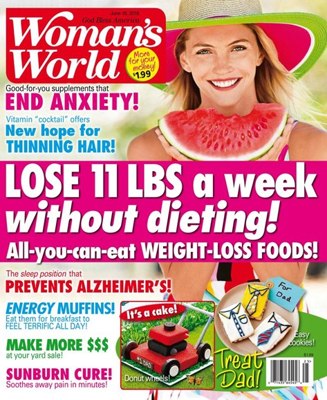 Woman's World Cover - 6/18/2018