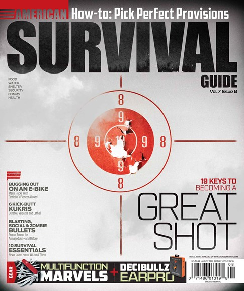 American Survival Guide Cover - 8/1/2018
