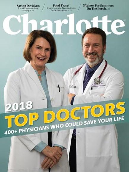 Charlotte Magazine Cover - 7/1/2018
