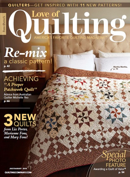 Fons & Porter's Love of Quilting Cover - 7/1/2018