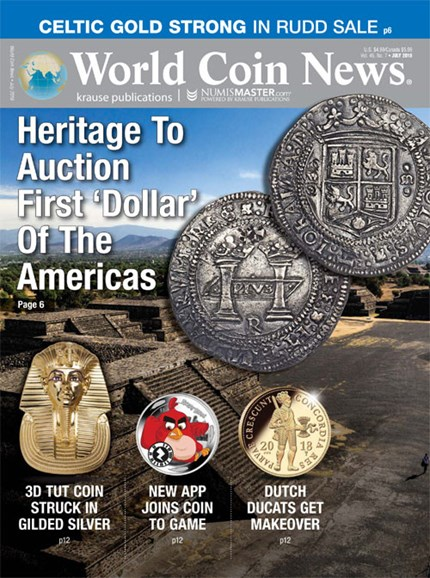 World Coin News Cover - 7/1/2018
